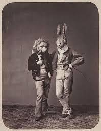 vintage masks 15 vintage portrait photos with creepy animal masks vintage