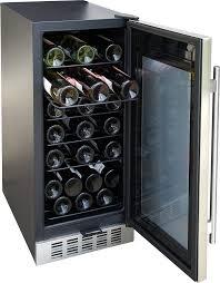 Under Cabinet Wine Fridge by Amazon Com Spt Wc 31u Under Counter 32 Bottle Wine And Beverage