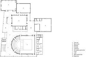 Globe Theatre Floor Plan The New Vendsyssel Theatre Designed By Schmidt Hammer Lassen