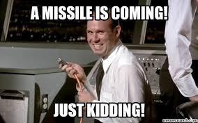 Hawaii Meme - missile strike