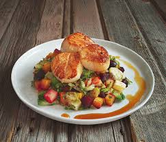 gastrique cuisine scallops with apple gastrique recipe beard foundation