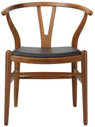 Furniture Home Hans Wegner Style Wishbone Replica Chair Leather - Hans wegner chair designs