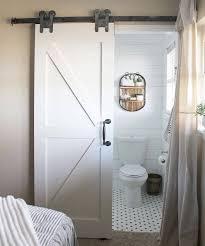 Bedroom Bathroom Best 25 Barn Door For Bathroom Ideas On Pinterest Sliding Barn