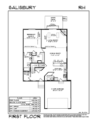 Garage Loft Floor Plans Walden Woods First Floor Master