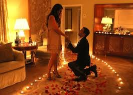 Romantic Room Valentine U0027s Day Proposal Ideas The Heart Bandits Blog