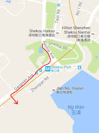 Shenzhen Metro Map In English by Getting To The New Shekou Ferry Terminal A K A Shekou Cruise Center