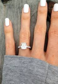 46 best cushion cut engagement rings images on cushion - Emerald Cut Engagement Rings 2 Carat