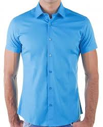 design hemd bridge herren basic design slim fit kurzarm hemd blau 18 99 eur