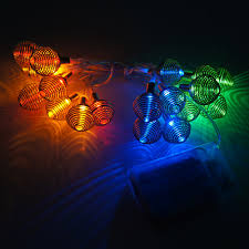 battery powered 2m 20led rgb string lights clear cable bedroom