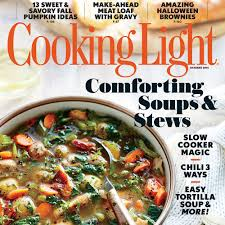 september 2016 magazine features cooking light