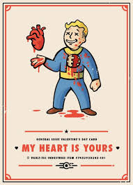 gamer valentines cards 78 best fallout images on