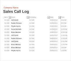 Sales Call Reports Templates Free by Sle Sales Call Report 7 Documents In Pdf Word Excel