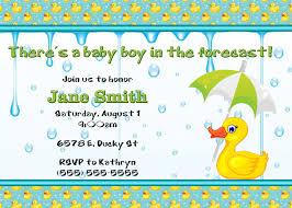 ducky baby shower invitation kustom kreations