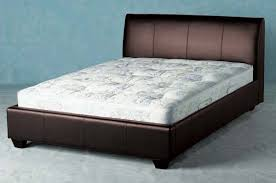 bedroom fancy limelight dorado faux leather 4 u00276 u0027 u0027 double bed