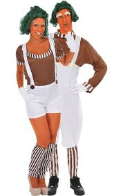 oompa loompa couple costumes jokers masquerade