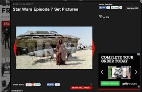 leaked u0027star wars episode vii u0027 photos business insider