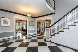 Grand Foyer Indian Village Georgian Revival Home With Carriage House Seeks