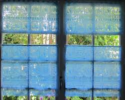 Blue And Yellow Kitchen Curtains by Kitchen Curtains Blue Rachael Ribbon U0026 Embroidery Cafe Curtains