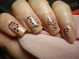 leopard nail art by the wonderful pinkness nailpolis