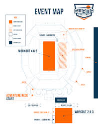 Uf Parking Map Event Guide Swamp Challenge