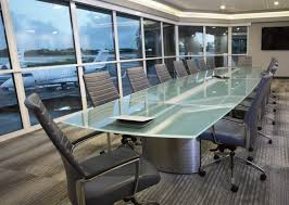 Black Glass Boardroom Table Boat Shape Conference Table Glass Boardroom Tables Stoneline