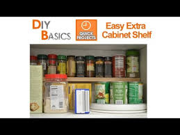 Extra Kitchen Cabinet Shelves Small Kitchen Ideas Add An Extra Shelf In Your Cupboards In