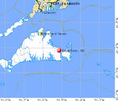 Chappaquiddick Ma Edgartown Massachusetts Ma 02539 Profile Population Maps