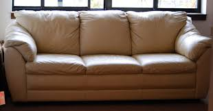 Leather Sofa Beige Beige Leather Sofa Furniture Umpquavalleyquilters Stylish