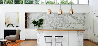 cuisine en marbre crédence marbre dans la cuisine conseils et idées inspirantes