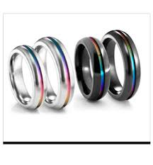 titanium wedding bands reviews titanium rings and jewelry unique men s wedding bands 90 day