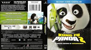Kung Fu Panda 2 Ultimate Edition Blu Ray Cover 2008 R1