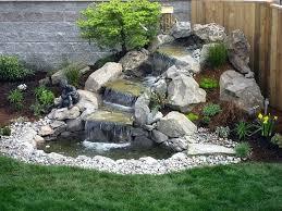 Rock Garden Features 4 Drop Rock Fall Garden Water Rock Garden Designs With