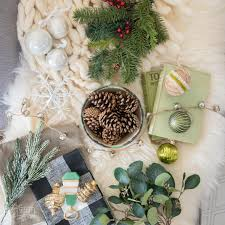 2017 holiday trends mood board with texture the co