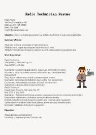 Resume Sample Electronics Technician by Sample Resume For Electronics Technician