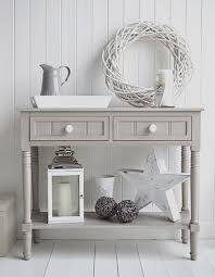 Grey Console Table Hallway Console Table Oxford Grey Console Table With Drawers And