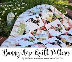 free thanksgiving quilt patterns bunny hop quilt pattern free