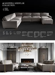 restoration hardware the maxwell collection the ultimate track