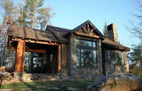 rustic stone and log homes modern stone and log homes modern house plans rustic kits stone cottage english with porch
