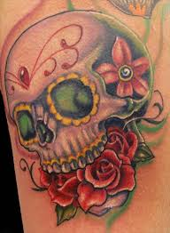 north tattoos com sugar skull tattoos for men