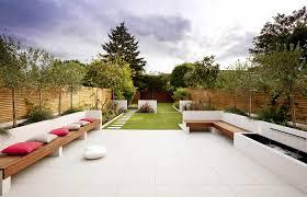 Pictures Of Patio Gardens Garden Design Plans For Long Garden Image17 Rzuty Rysunki
