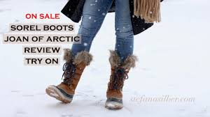 womens sorel boots for sale sorel joan of arctic boots reveal and review