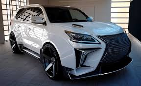 widebody lexus is250 lexus lx 570 with verge widebody kit from russia