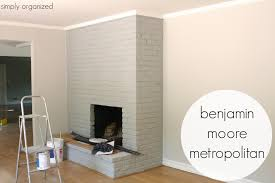 bm metropolitan for fireplace and behr silver drop on walls