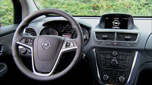 opel mokka 2014 2013 opel mokka interior youtube