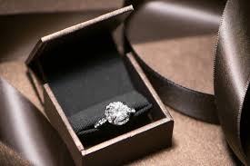 slim engagement ring box impress your loved one with this gorgeous ring the dieline