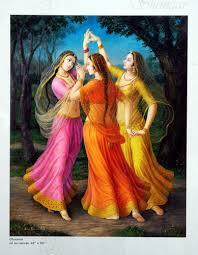 ghoomar paintings on canvas in ratanada jodhpur exporter