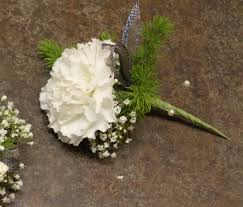 white boutonniere single white carnation boutonniere in davis ca strelitzia