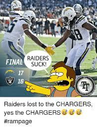 Raiders Suck Memes - 25 best memes about raiders suck raiders suck memes