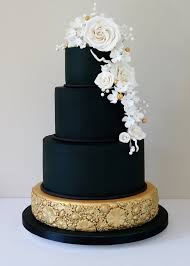 black wedding 20 wedding cakes that add a flair to the special affair