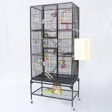 gabbie per grande piatto top in metallo gabbie per uccelli di ferro